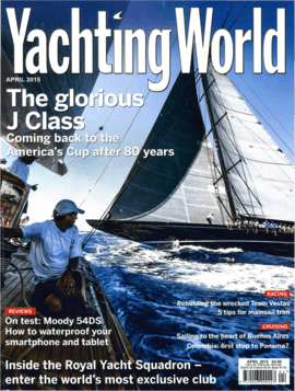 Moody Decksaloon 54: Test Review - Yachting World 04/2015 | If you had to pick a yacht to go sailing in the Baltic in December, the voluminous, warm and welcoming Moody DS54 woult top a lot of lists. | Moody