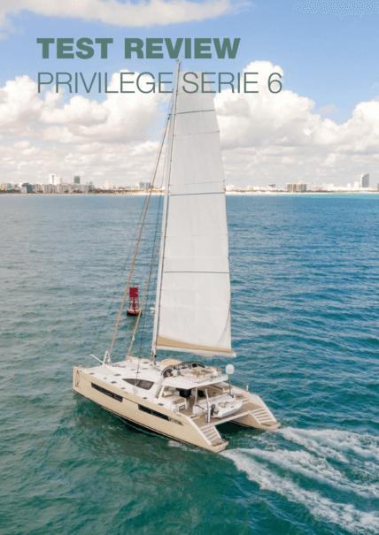 Privilège Serie 6: 用于游艇的两艘船体 | Privilège Marine坚持不懈地生产顶级的多体船,专门用于蓝水巡航。我们能够发现Privilège Serie 6的第二个例子--自2016年推出以来,已经制造了三个单位。 | Privilège