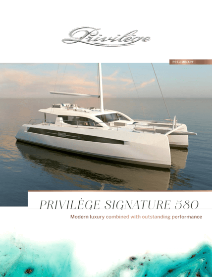 Privilège Signature 580 | Brochure | Privilège