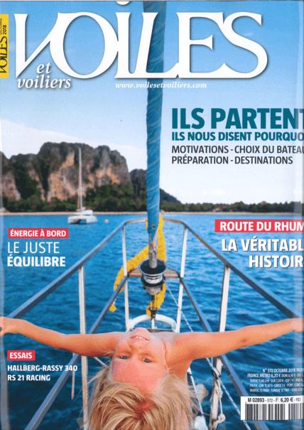 Privilège Signature 580 : Voiles & Voiliers Octobre 2018 | Privilège Signature 580 - Plus ouvert sur la mer | Privilège