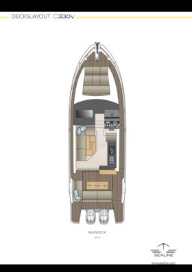 Sealine C330v Maindeck - Option