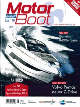 Sealine C330v Bericht Motor Boot Magazin 08'19