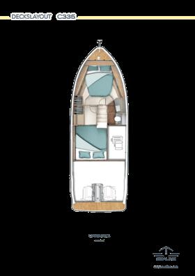 Sealine C335 Lower deck