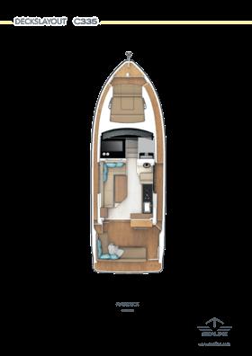 Sealine C335 Main deck