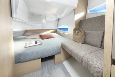 Interior features have high level of customization