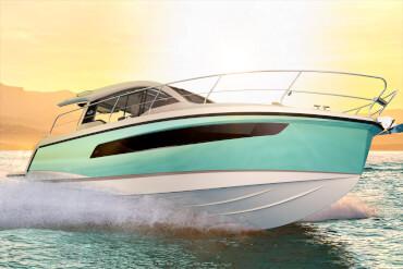 Sealine C335v внешний вид | Каждый изгиб, линия и поверхность корпуса создают самые яркие впечатления от моторной яхты. | Sealine