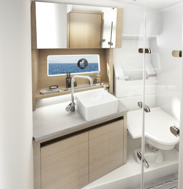 Sealine C335v | A place of well-being - inspired by the aestetics of a modern spa resort. | Sealine