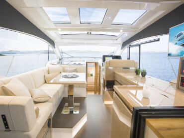 Sealine C390 saloon | All colours and materials are used strictly according to your style choice. | Sealine