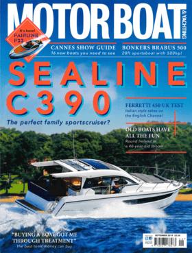 Sealine C390: Motorboat & Yachting September 2019