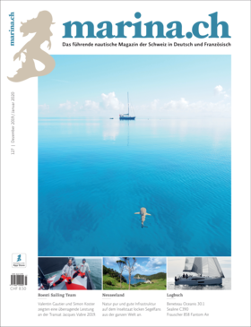 Sealine C390: Testbericht - marina.ch 127 Dez 2019 / Jan2020