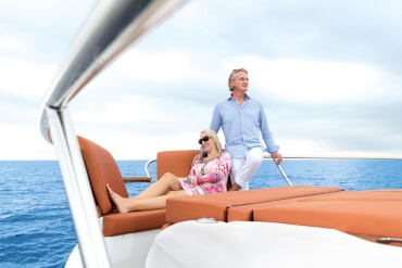 Sealine C430 deck | Take a front row seat to see life in all its beauty. | Sealine