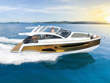 Sealine S430 Außenansicht | Alle Sealine Yachten vereinen dieselben Werte in sich: große Innenräume, viel natürliches Licht, beeindruckendes Design und deutsche Ingenieurskunst. | Sealine