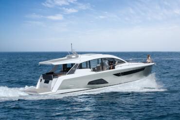 Sealine C530 extérieur | Sealine C530 - le cabriolet sportif pour la mer | Sealine