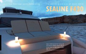 Sealine F430: Yachting Magazine Korea | April 2018