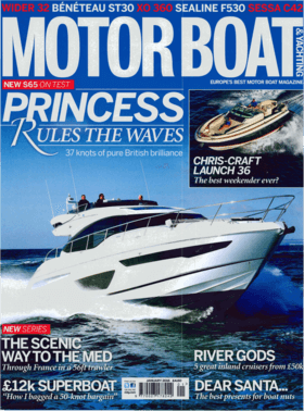 Sealine F530: Preview - Motor Boat & Yachting 01/2016