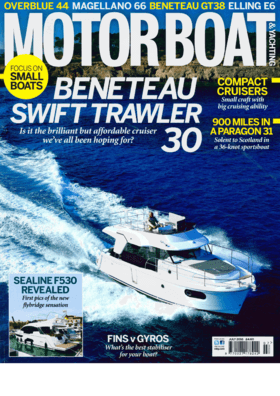 Sealine F530: Preview - Motorboat & Yachting July 2016