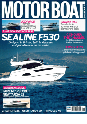 Sealine F530: Test Review - Motorboat & Yachting August 2016