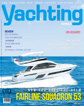 Sealine F530: Test review - yachting Korea June 2017