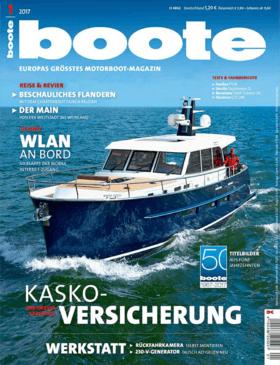 Sealine F530: Testbericht - boote 1.2017 | Sealine F530 - Die Flybridge-Yacht hält jede Menge Open-Air-Bereiche mit gemütlichen Sitzflächen und Liegewiesen bereit. | Sealine