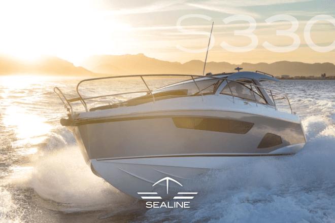 Sealine S330 брошюра | Sealine