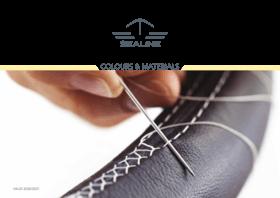 Sealine Colores y materiales | Diseñe el aspecto de su Sealine con telas, colores y materiales a su gusto. | Sealine