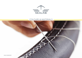 Sealine Colours & Materials | Customize the look of your Sealine yacht with fabrics, colors and materials to suit your taste. Start designing your perfect new motor yacht. | Sealine