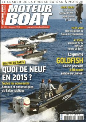 Sealine S330: Examen - Moteur Boat 01/2015
