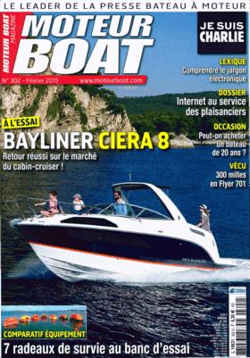 Sealine S330 Examen du test - Moteur Boat Magazine 02/2015