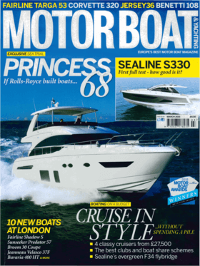 Sealine S330: Test Review - Motor Boat & Yachting 03/2015