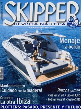 Sealine S330: Característica - Skipper Revista Nautica 02/2016
