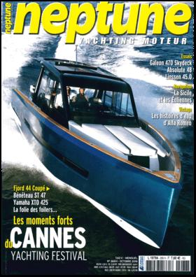 Sealine S330v: examen - neptune Yachting Moteur Octobre 2018