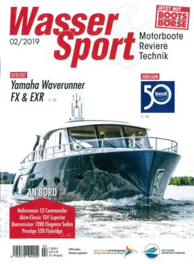 Sealine S330v: Bericht - WasserSport 02/2019