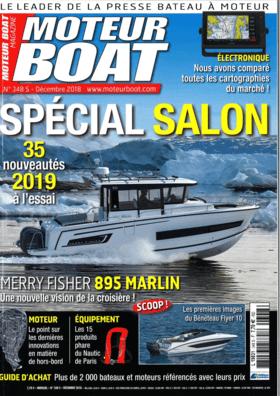 Sealine S330v: Examen du test - MOTEUR BOAT MAGAZINE N° 348 décembre 2018