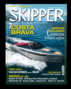 Sealine S330v: Revisión de la prueba - Skipper N°436 Marzo 2019