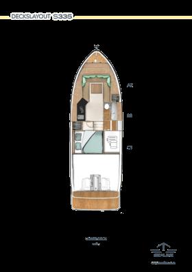 Sealine S335 Lower Deck Option