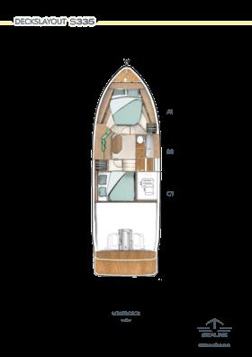 Sealine S335 Lower Deck Option | Option | Sealine