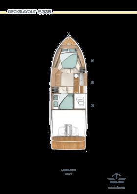 Sealine S335 Lower Deck