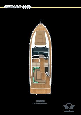 Sealine S335 Main deck