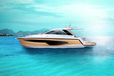 powerboat, relax, anchor, bay, hull window, sunroof, bathing platform