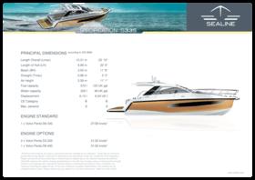 Sealine S335 Specifications