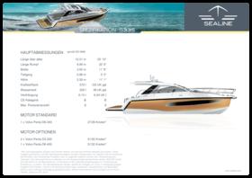 Sealine S335 Spezifikationen