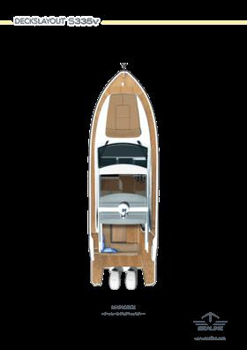 Sealine S335 Main Deck Roof