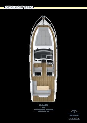 Sealine S335v Ana güverte