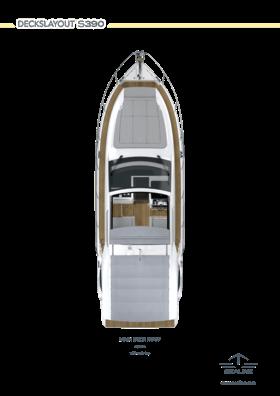 Sealine S390 Ana güverte Çatı