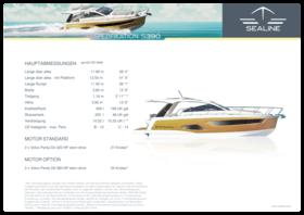 Sealine S390 Specifications