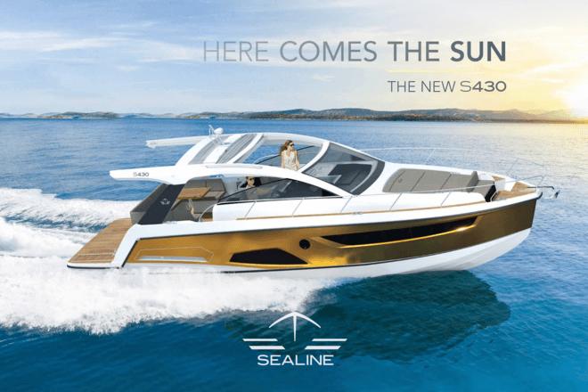Sealine S430 Broschüre | Sealine
