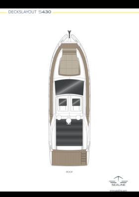 Sealine S430 Layout - alle Optionen