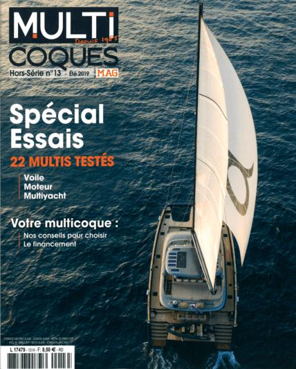 多体船N°13 2019 | 作为Privilege Serie 5的电动版,Euphorie 5已经等待了近三年,但却立即说服了我们。在船上航行就是在享受非凡的舒适和有品位的奢华。这也意味着无论天气如何,都要对长时间的穿越感到自信。 | Privilège