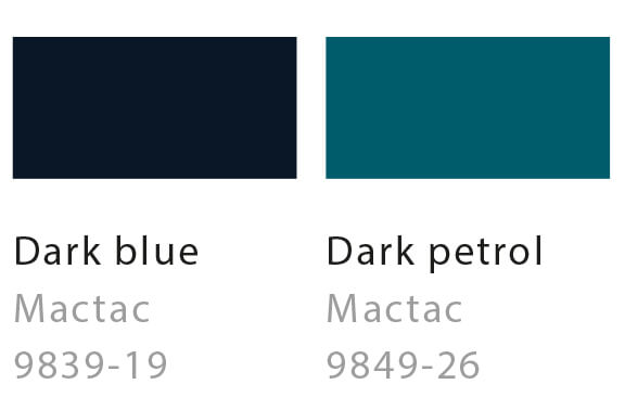 Dark blue / Dark petrol