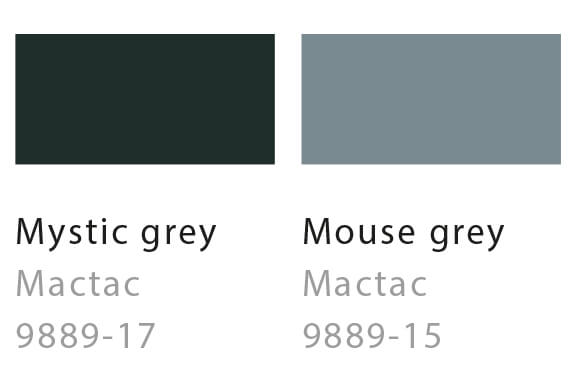 Mysteric grey / Mouse grey